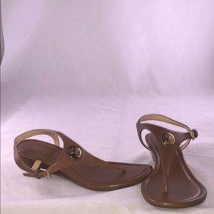 Michael Michael Kors 5 M Ramona Wedge Sandals